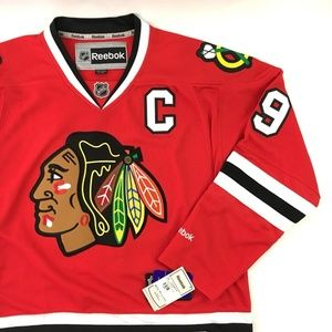 New Reebok NHL Chicago Blackhawks Jonathan Toews L